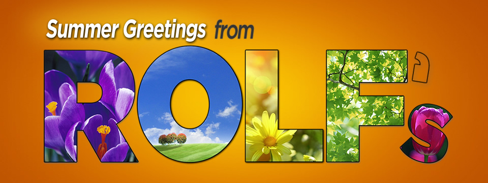 Summer Greetings from Rolf's Auto Care